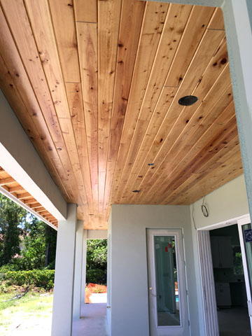 Brevard And Indian River County Wood Cypress And Pine Ceiling Installation Services